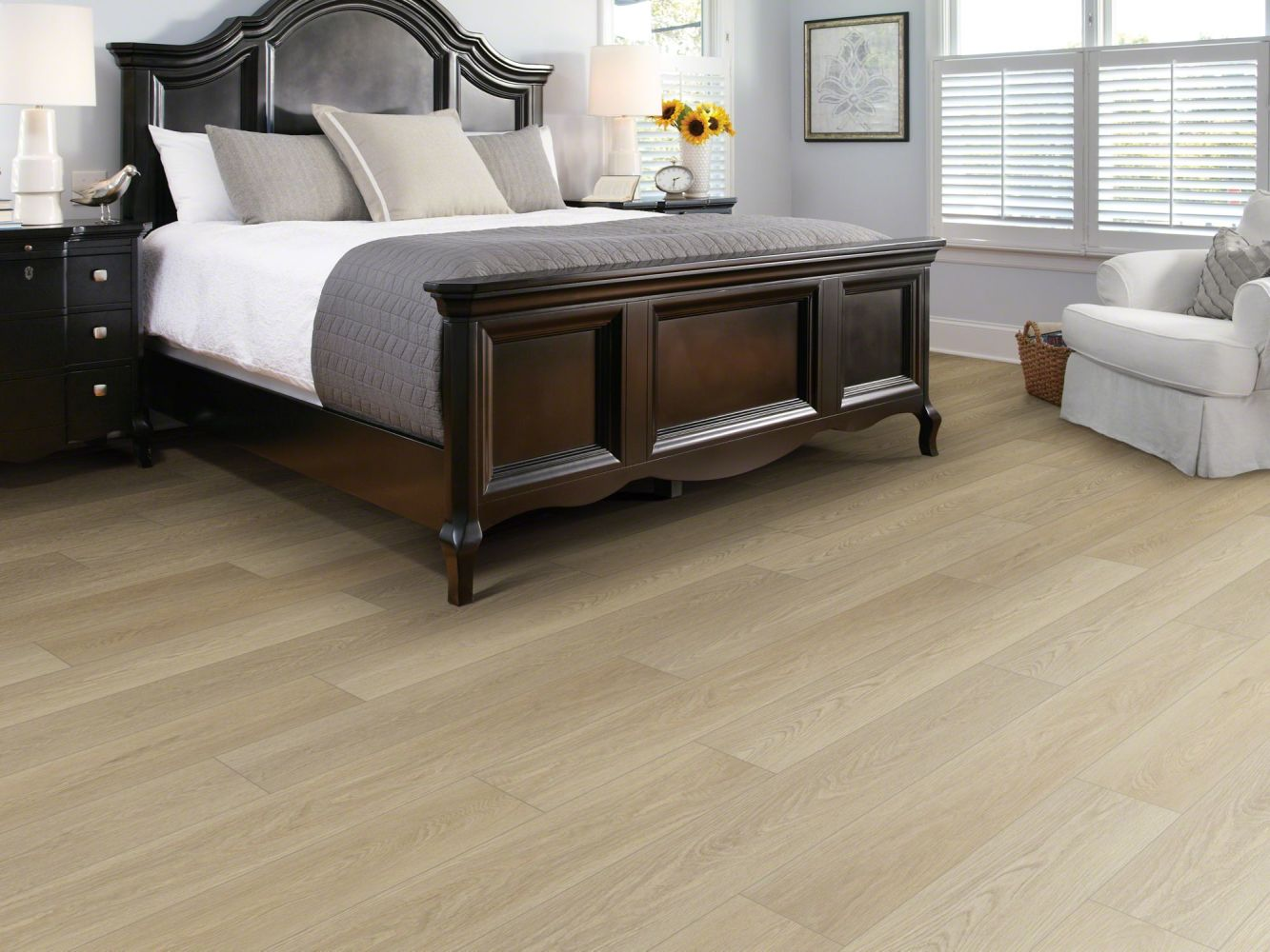 Shaw Floors Resilient Residential Distinction Plus Timeless Oak 00693_2045V
