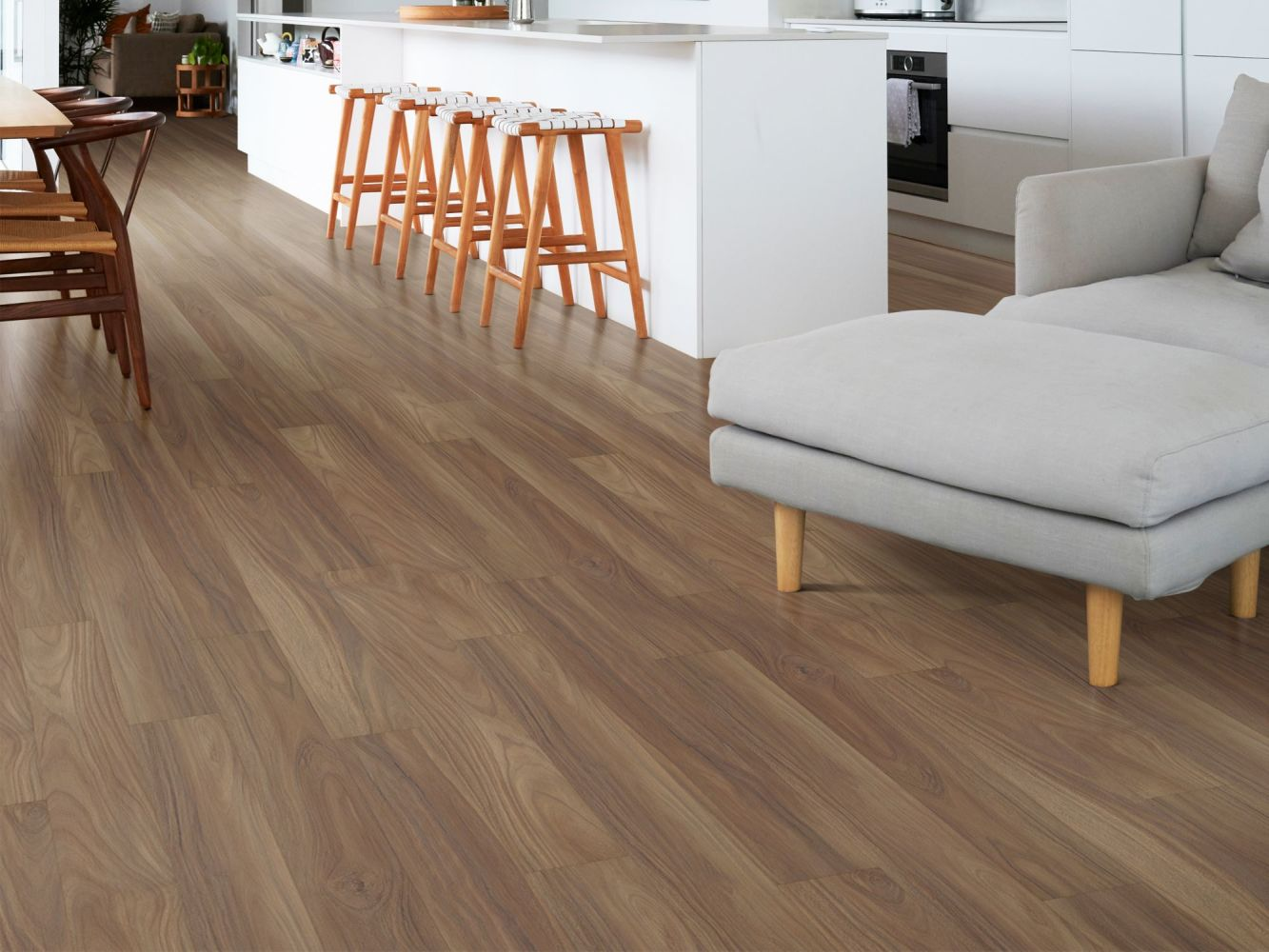 Shaw Floors Resilient Residential Distinction Plus Rain Tree 07230_2045V