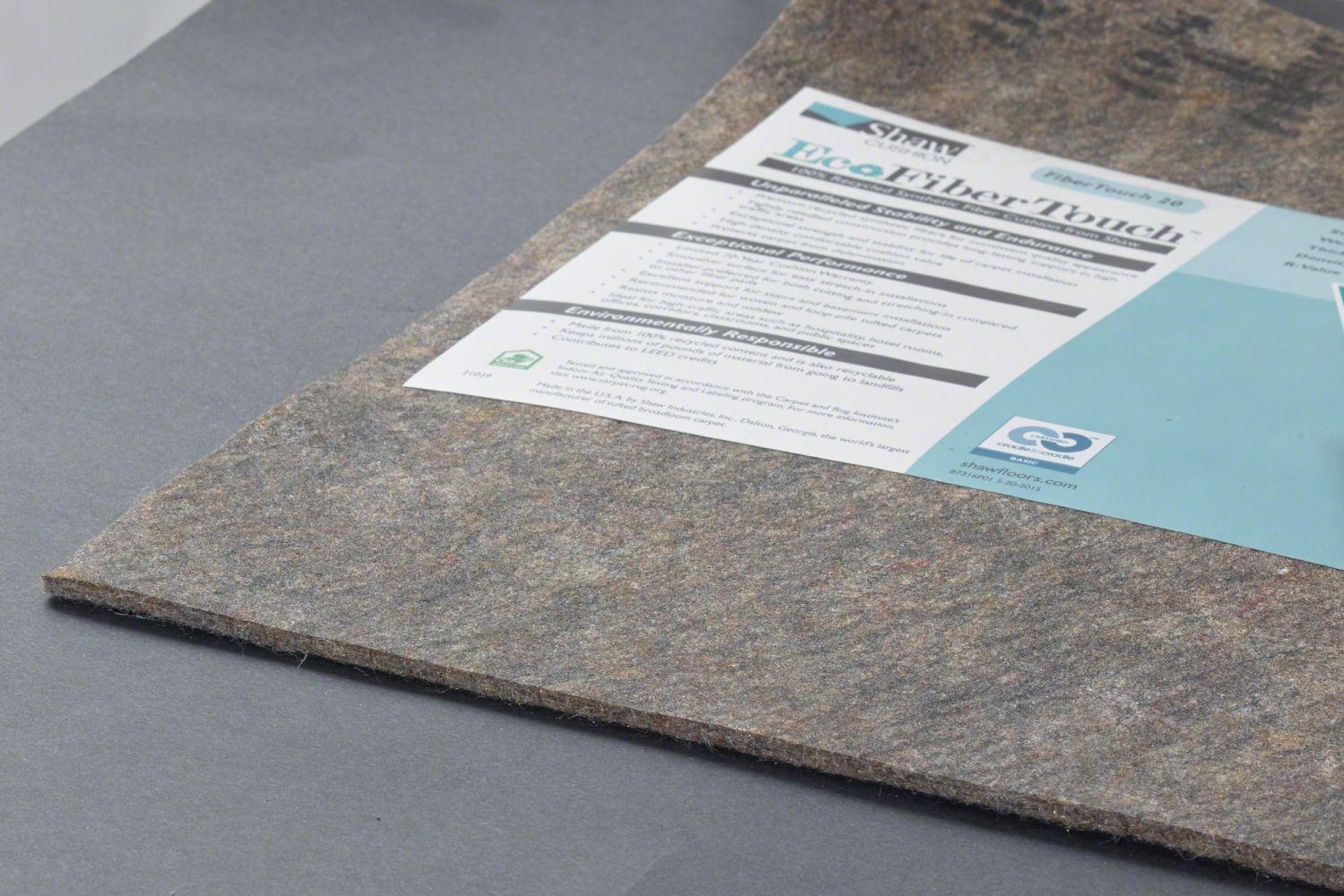 Shaw Floors Eco Edge Cushion Fibertouch 20-6 Grey 00001_228FT