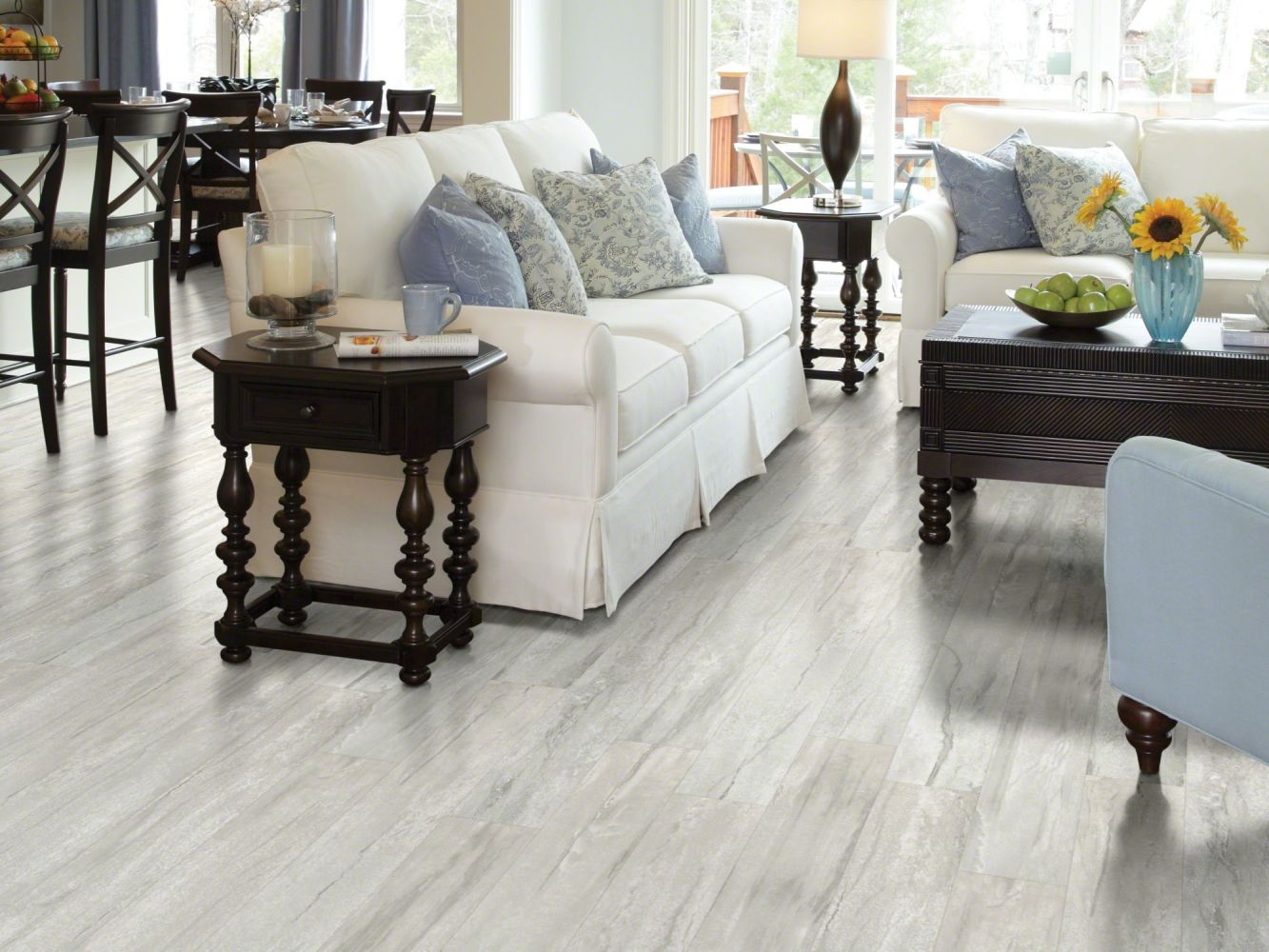 Shaw Floors Resilient Residential Classico Plus Plank Bianco 00107_2426V