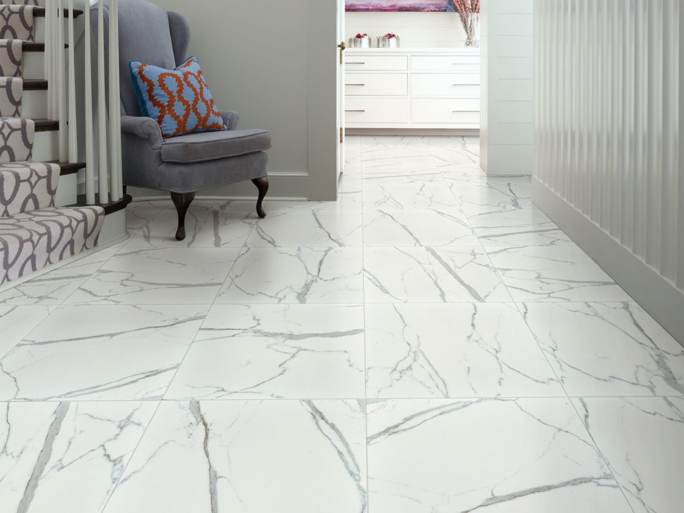 Shaw Floors Ceramic Solutions Universe 12×24 Carrara 00150_251TS