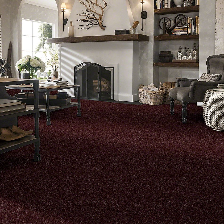 Shaw Floors St Jude In A Twinkling Autumn Burgundy 25810_JD327
