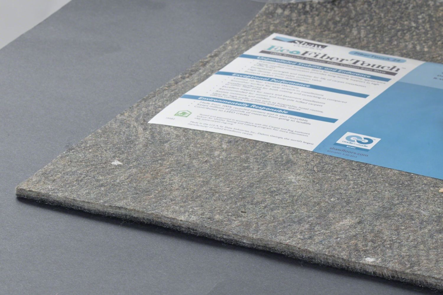 Philadelphia Commercial Eco Edge Cushion Fibertouch 24-6 Grey 00001_260FT