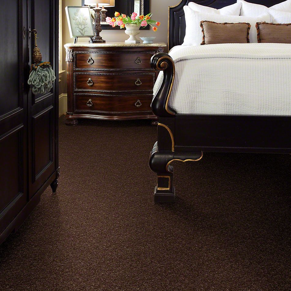 Shaw Floors Property Solutions Tailored Elegance Suede Brown 26774_PS726
