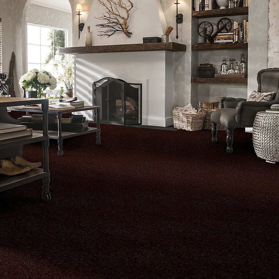 Shaw Floors Queen Patcraft Yukon Chocolate Brown 27742_Q0028