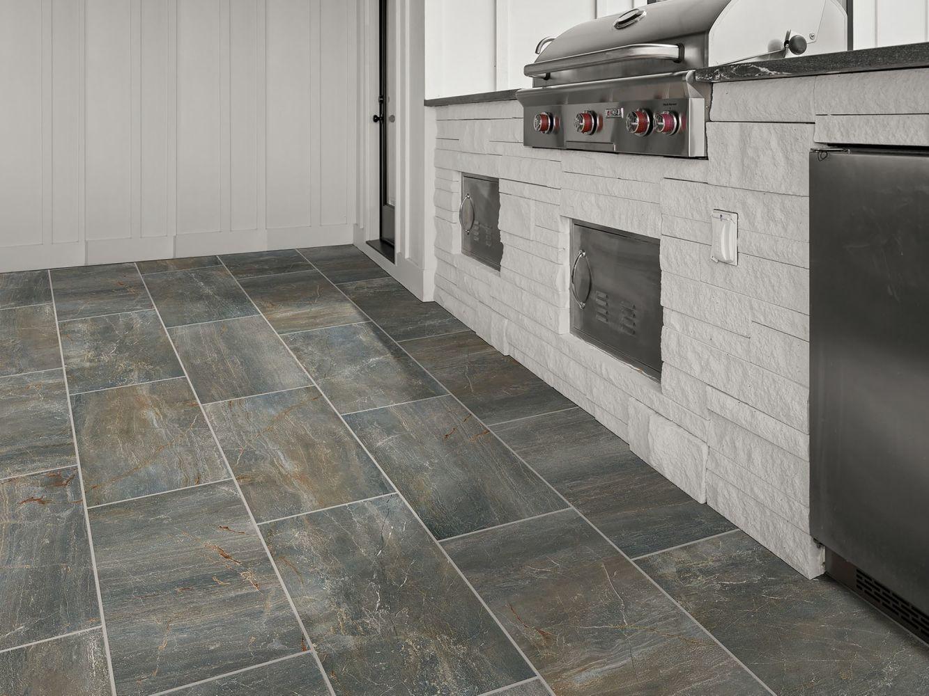 Shaw Floors Ceramic Solutions Trace 12×24 Matte Gunmetal 00500_318TS