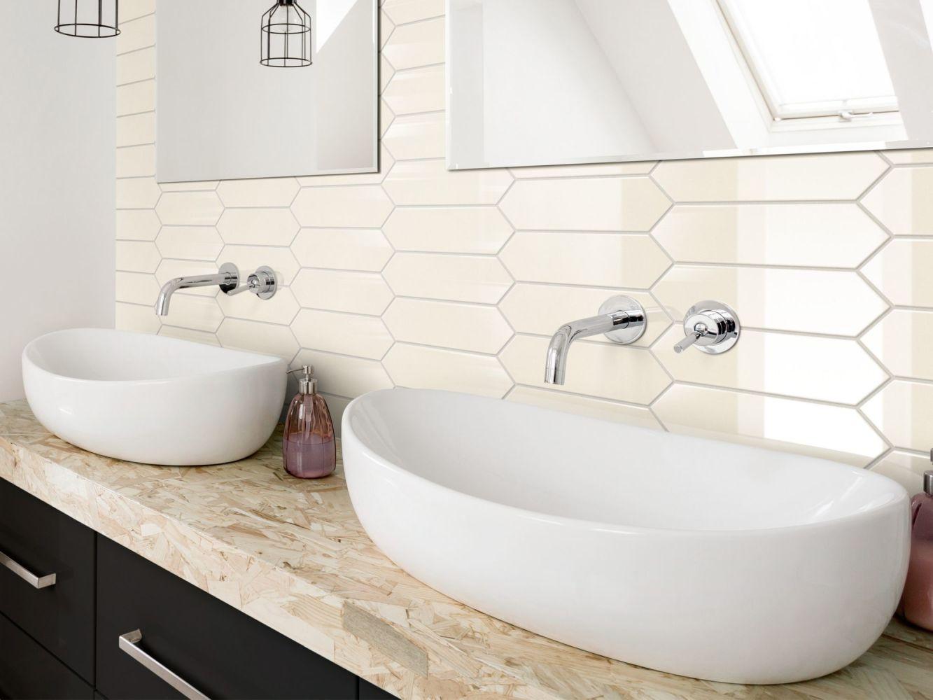 Shaw Floors Ceramic Solutions Cutlass 3×12 Cream 00120_365TS