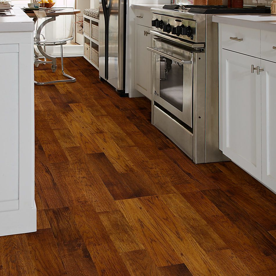 Shaw Floors Home Fn Gold Hardwood Heritage Hickory Smokehouse 37372_HW626