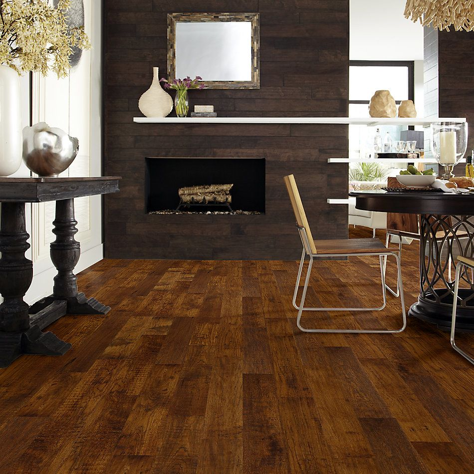 Shaw Floors Home Fn Gold Hardwood Heritage Hickory Sorghum 37402_HW626