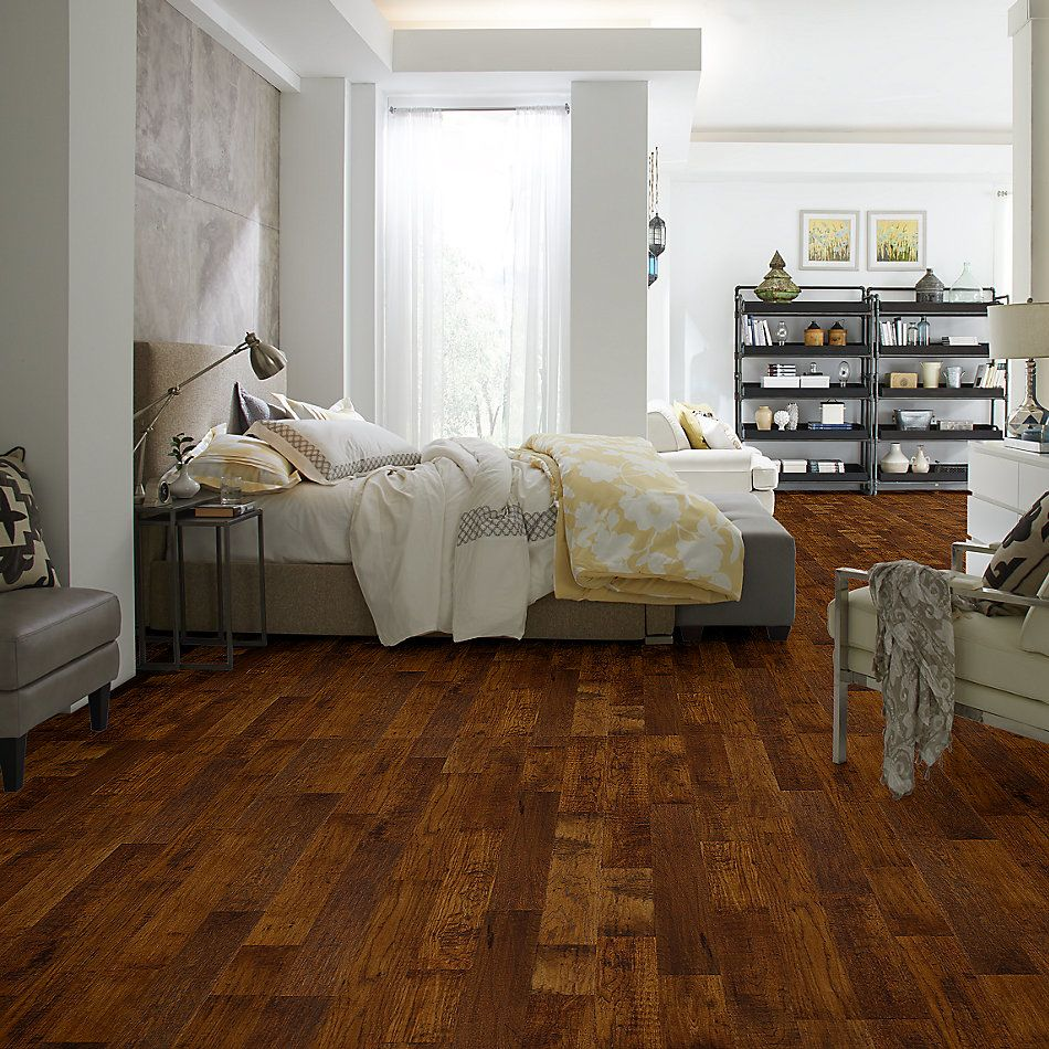 Anderson Tuftex Home Fn Gold Hardwood Artisan Hickory Solid 5 Sorghum 37402_HWATS