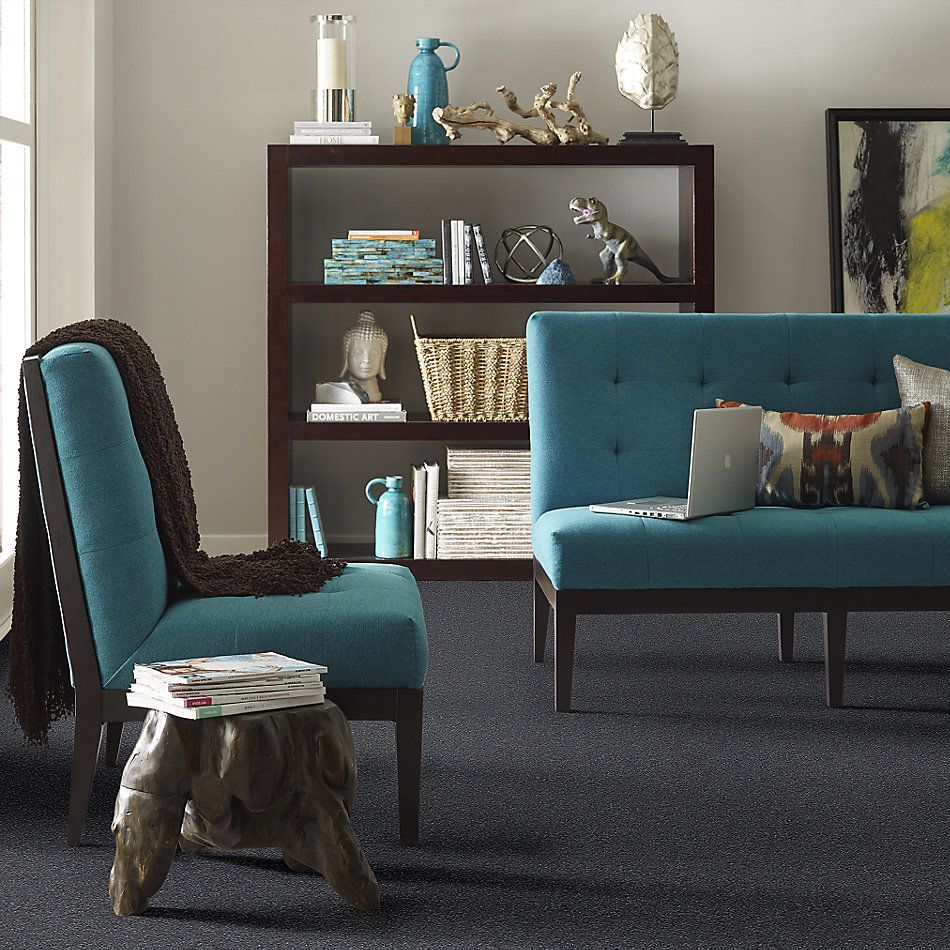 Shaw Floors Value Collections Attainable Net Faded Indigo 400S_5E094