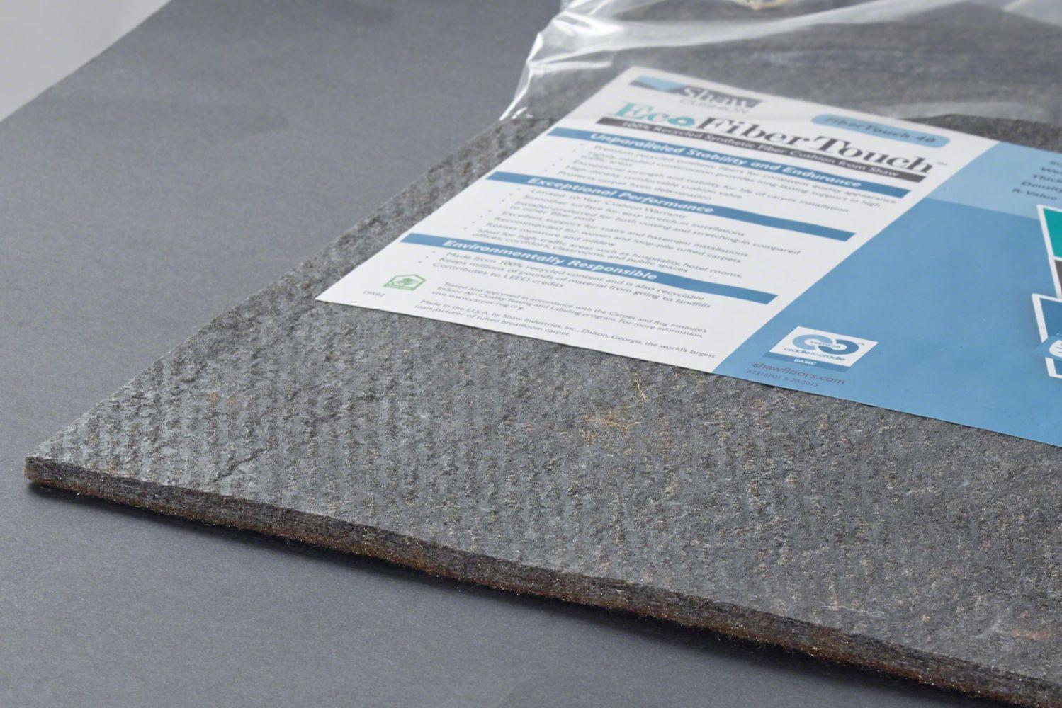 Shaw Floors Eco Edge Cushion Fibertouch 40-12 Grey 00001_403FT