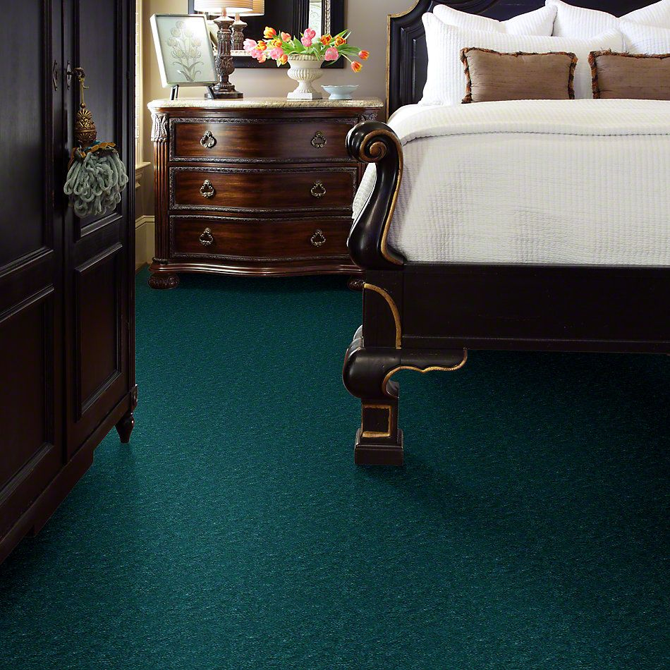 Shaw Floors Cascade II Glowing Teal 50303_52350