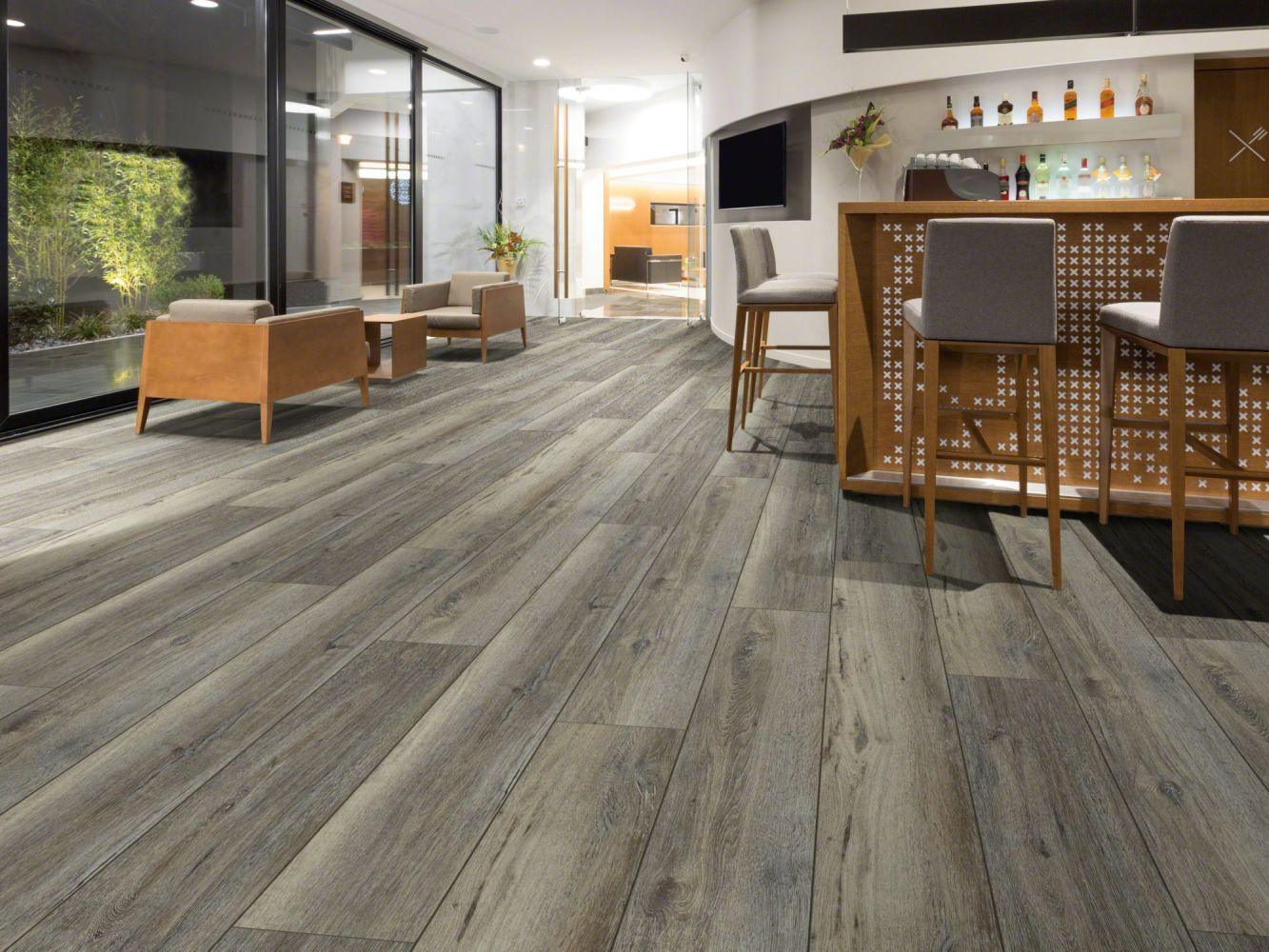 Shaw Floors Resilient Residential Aged Oak 720c Plus Silver Oak 05003_517SA