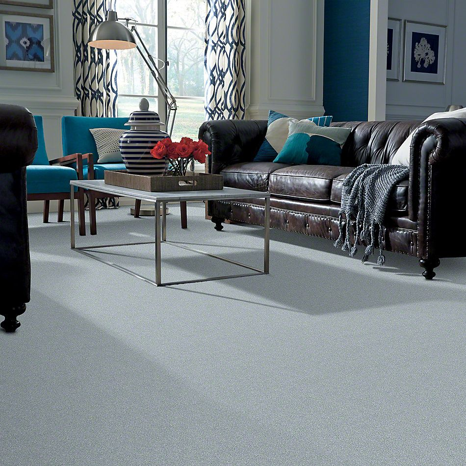 Shaw Floors SFA Find Your Comfort Ns Blue Polished Silver (s) 538S_EA816