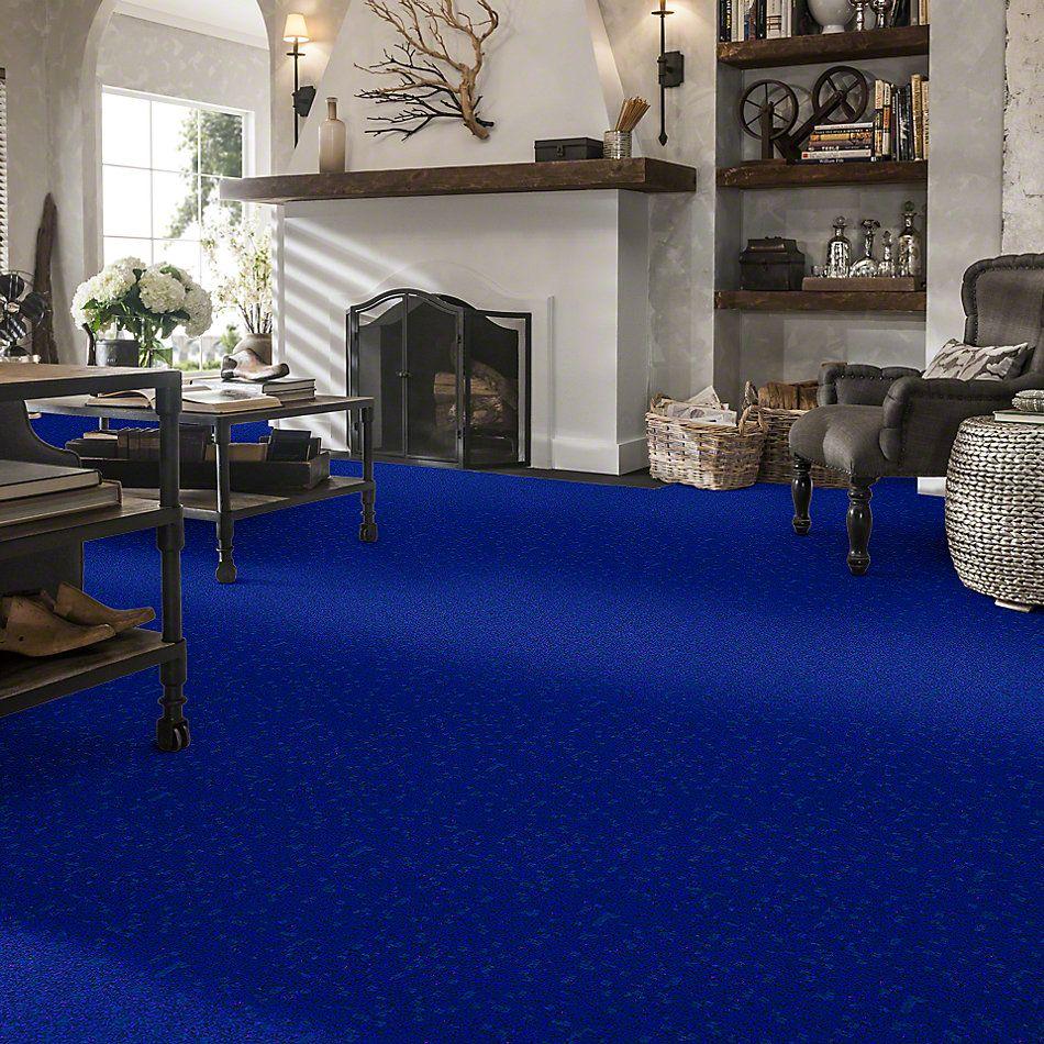 Shaw Floors Value Collections Newbern Classic 12′ Net Cobalt 55453_E9198