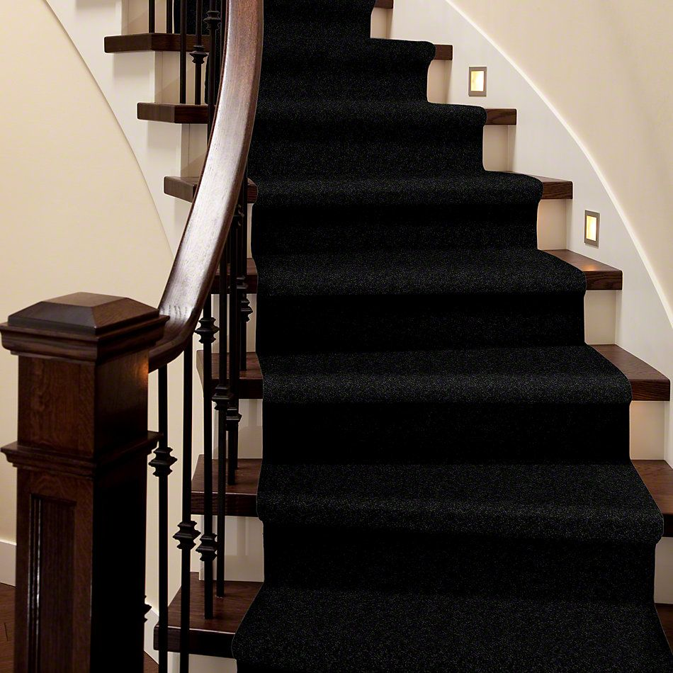 Shaw Floors Briceville Classic 15 Coal Black 55502_E0952