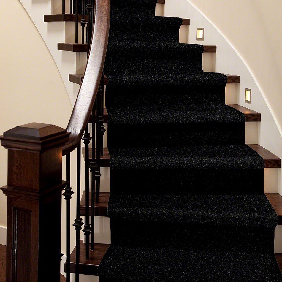 Shaw Floors Value Collections Newbern Classic 12′ Net Coal Black 55502_E9198