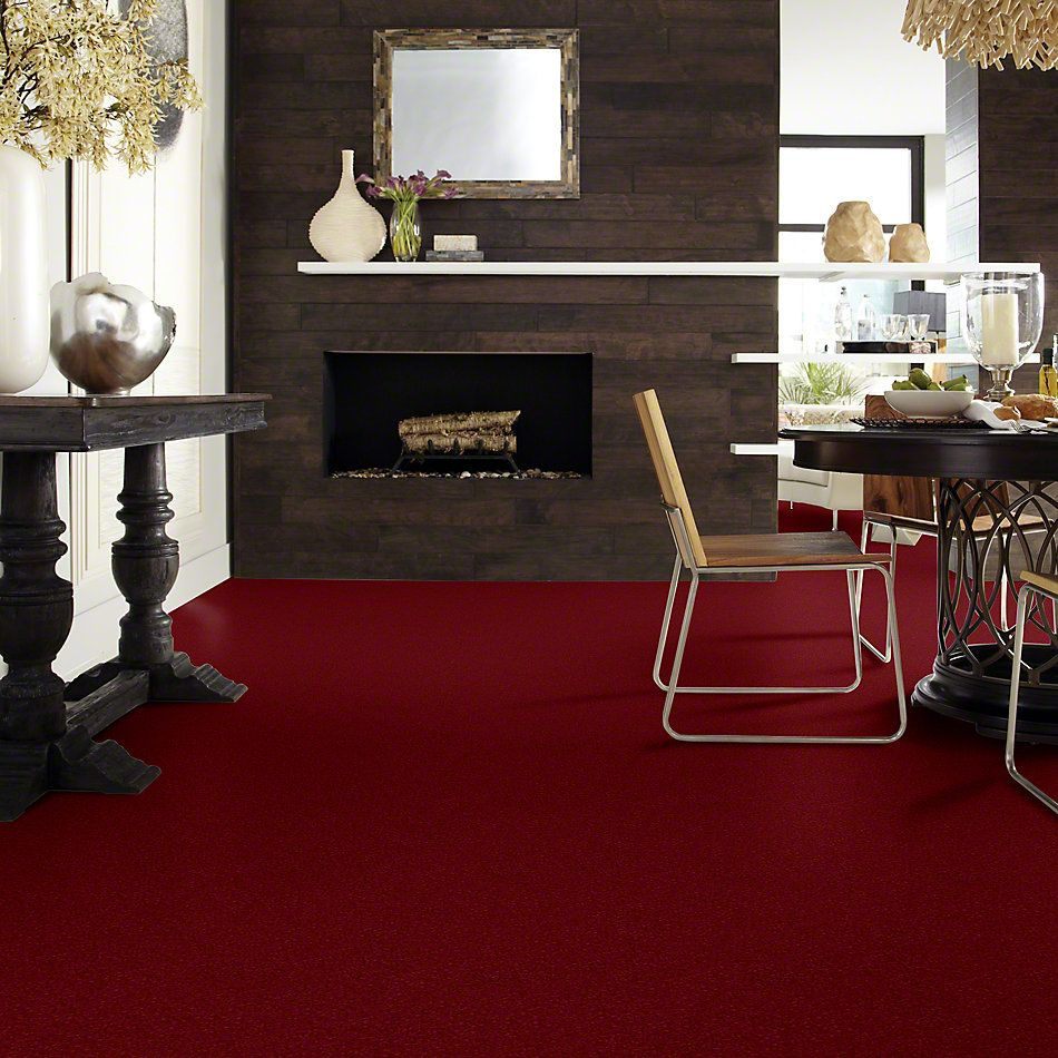 Shaw Floors Value Collections Newbern Classic 15′ Net Crimson 55803_E9199