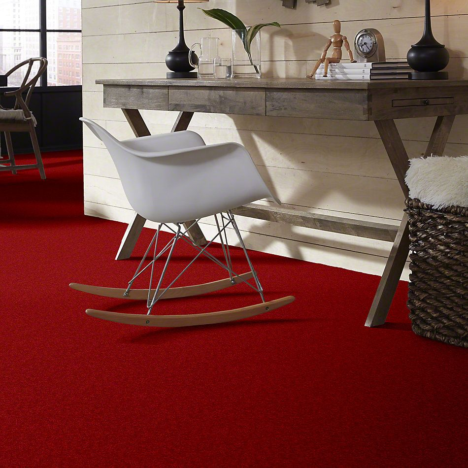 Shaw Floors Value Collections Briceville Classic 15′ Net Real Red 55852_E9197