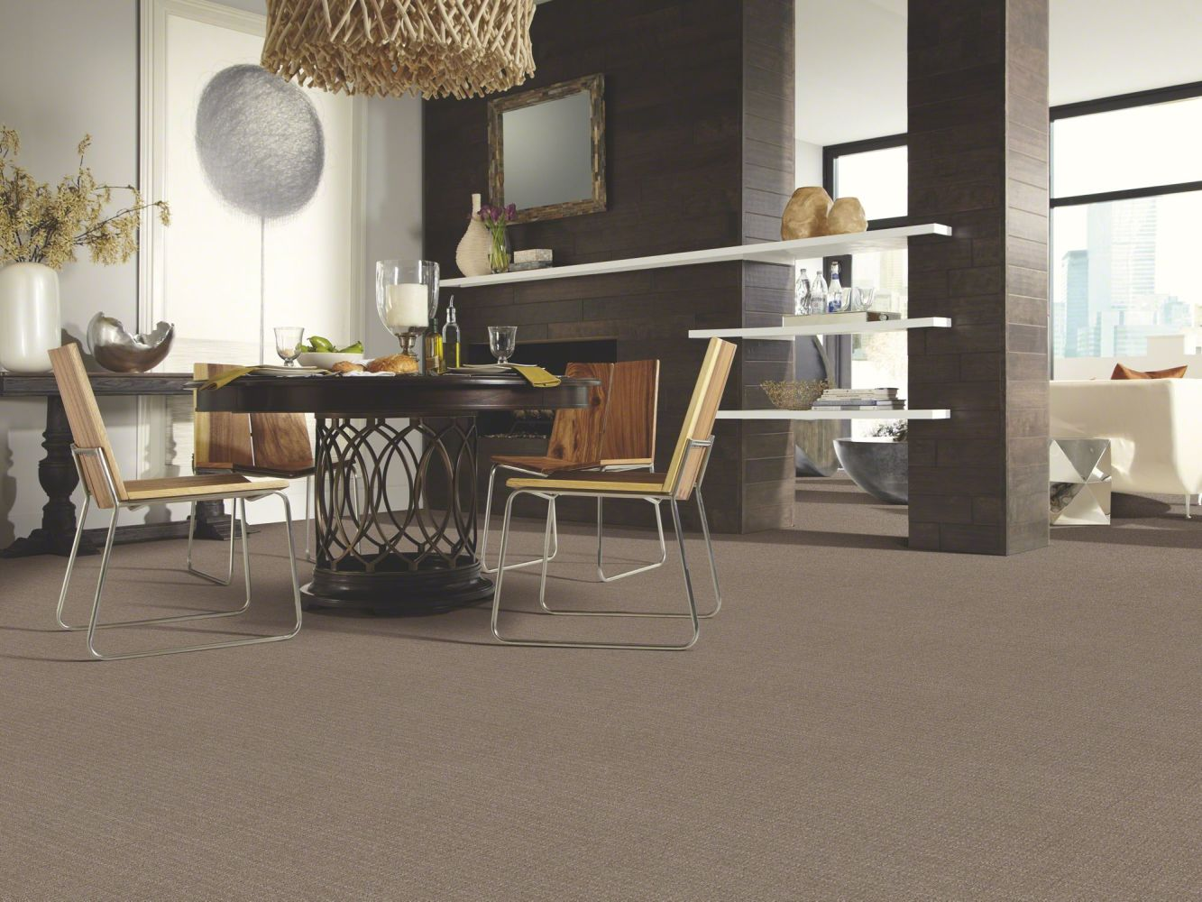 Shaw Floors Shaw Design Center Never Before Gray Flannel 00511_5C736