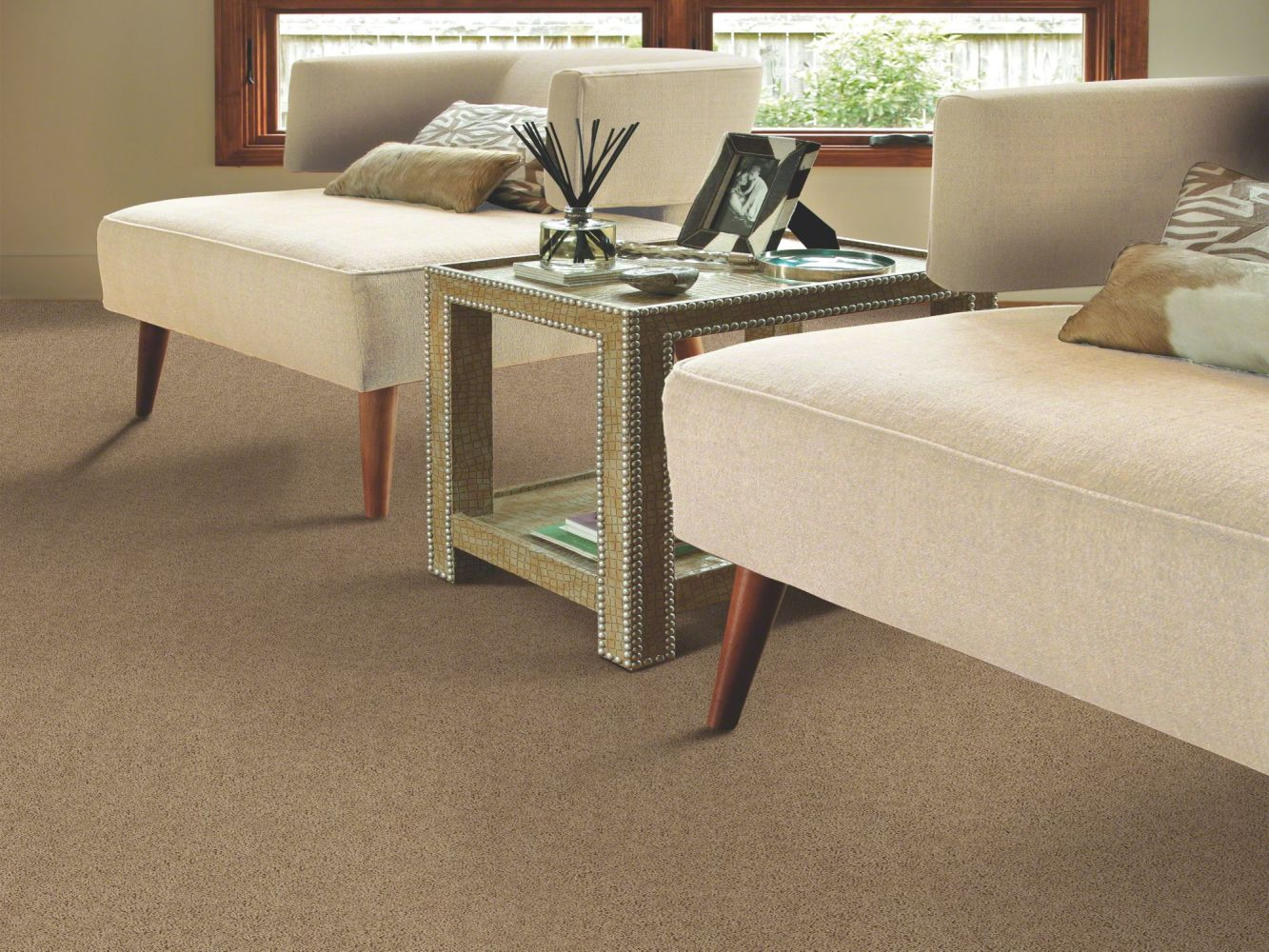 Shaw Floors Value Collections Break Away (s) Net Clay 00701_5E282