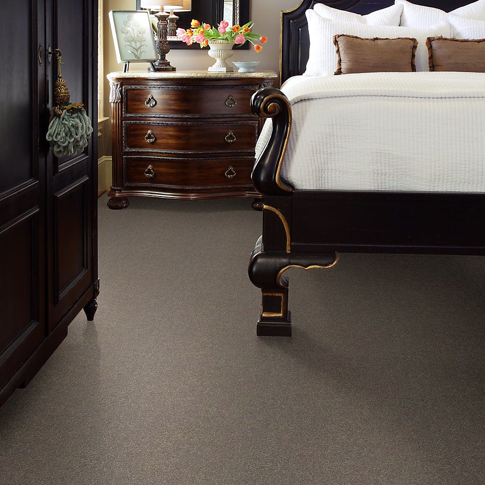 Shaw Floors Value Collections Attainable Solid Net Smooth Taupe 700S_5E094