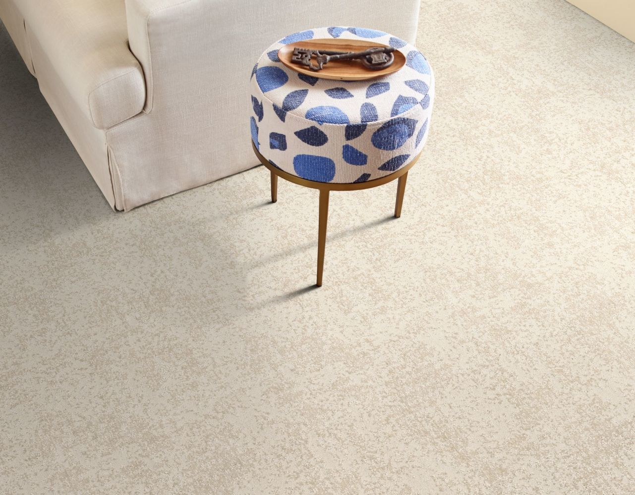 Shaw Floors Caress By Shaw Artistic Presence Delicate Cream 00156_CC73B