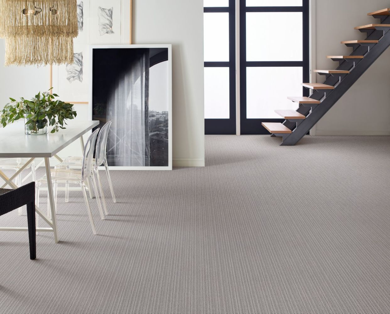 Shaw Floors Caress By Shaw Subtle Aura Grounded Grey 00536_CC84B