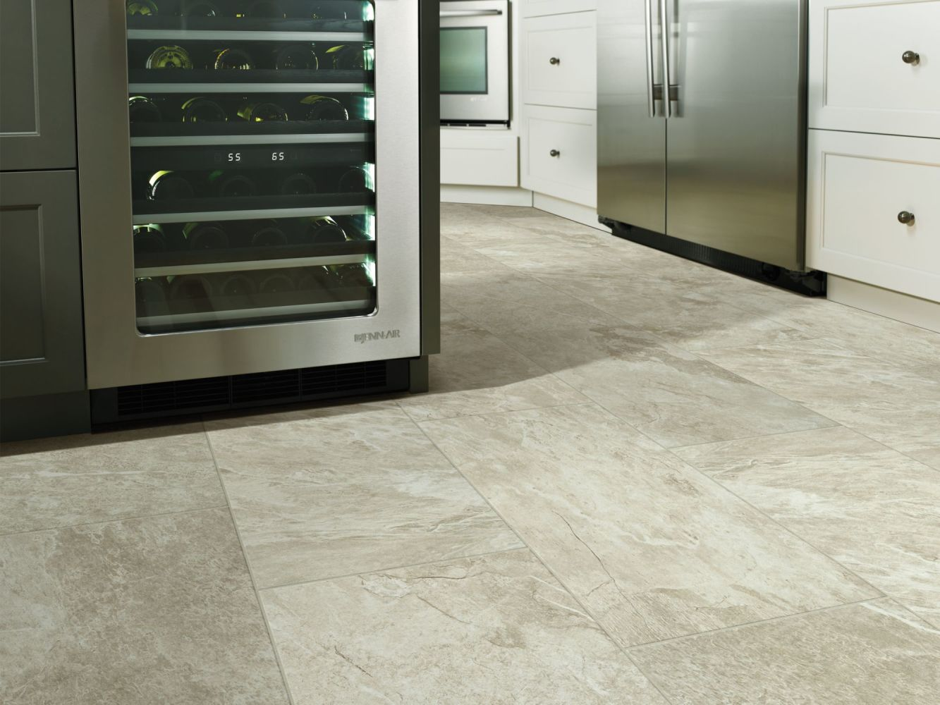 Shaw Floors Ceramic Solutions Artisan Mosaic Taupe 00150_CS12V