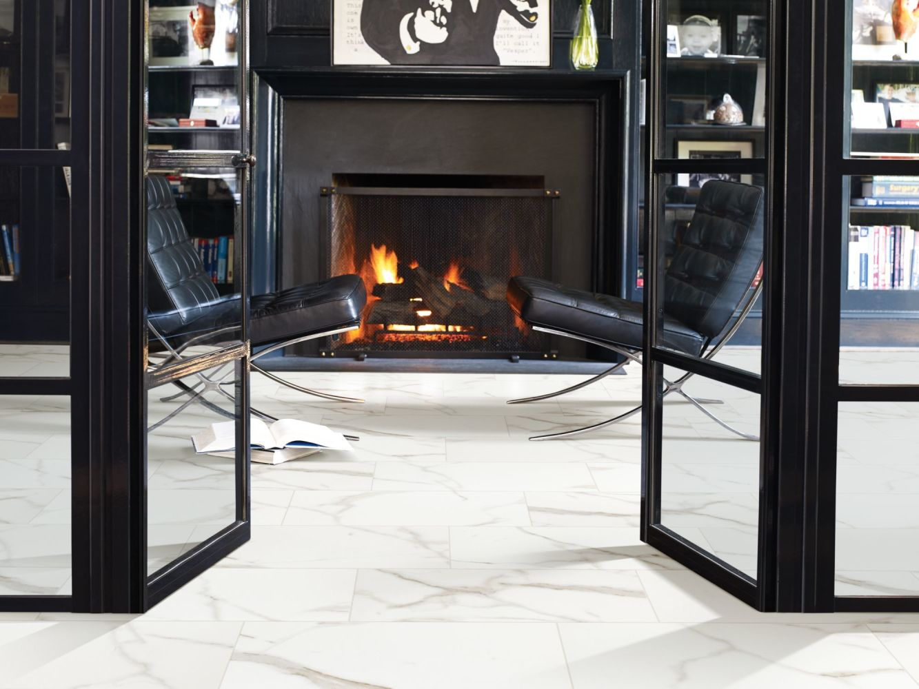 Shaw Floors Ceramic Solutions Glacier 8×12 Wall Grey 00105_CS14P