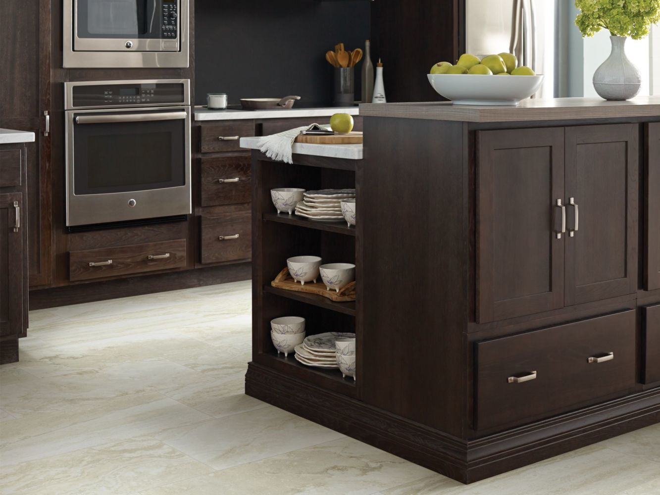 Shaw Floors Ceramic Solutions Genesis Wall Listello 2 Ivory 00125_CS28V