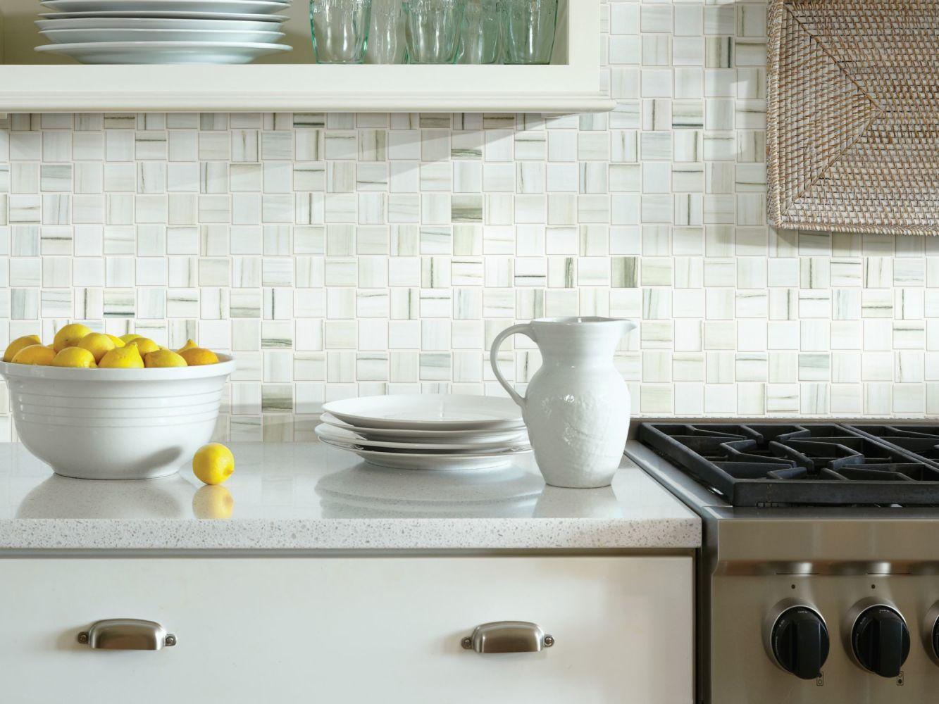 Shaw Floors Ceramic Solutions Range Mosaic Polished Zebrino 00155_CS33Z