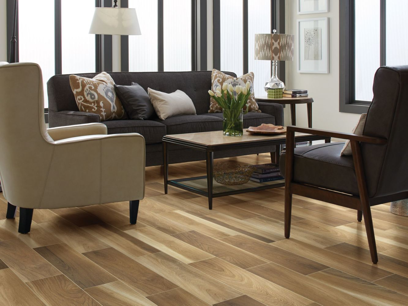 Shaw Floors Ceramic Solutions Independence 6×36 Natural 00200_CS35P