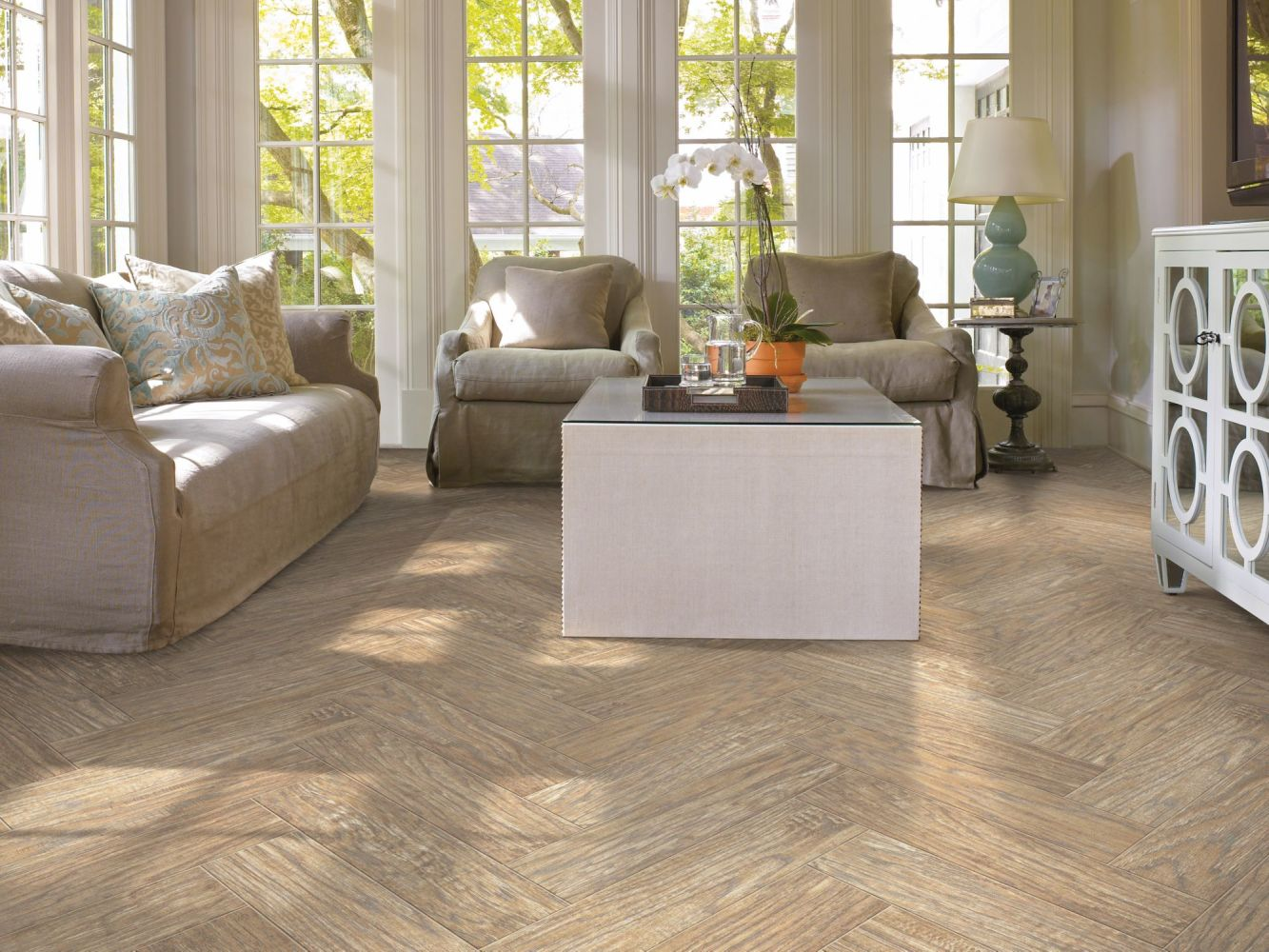 Shaw Floors Ceramic Solutions Petrified Hickory 6×36 Relic 00500_CS36M