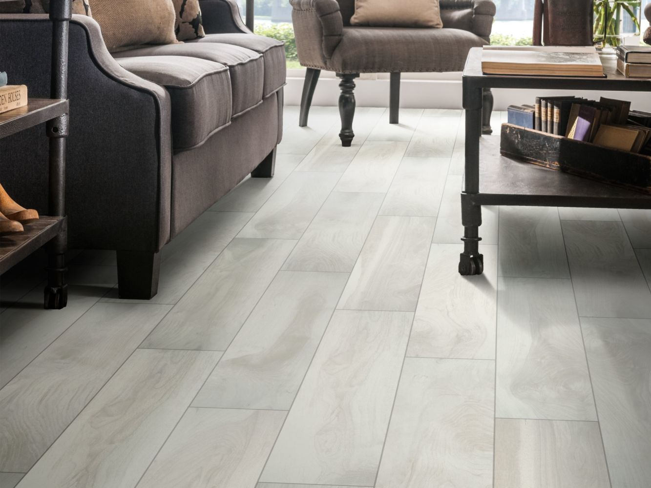 Shaw Floors Ceramic Solutions Heirloom 8 X 36 Fine China 00150_CS39Z