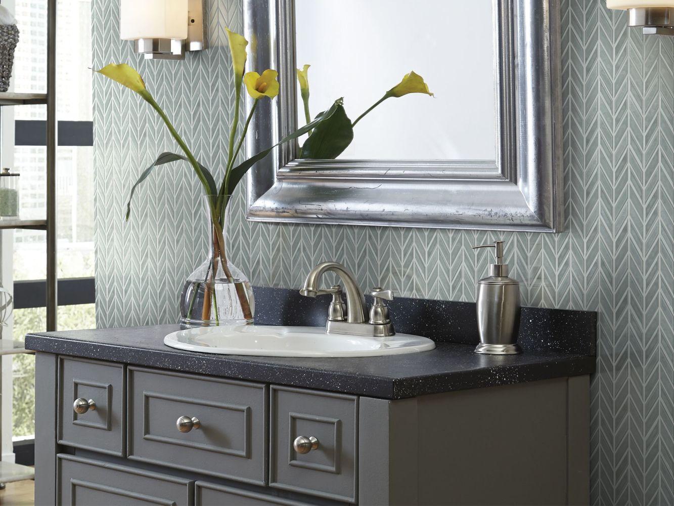 Shaw Floors Ceramic Solutions Geoscapes Chevron Light Grey 00500_CS46X