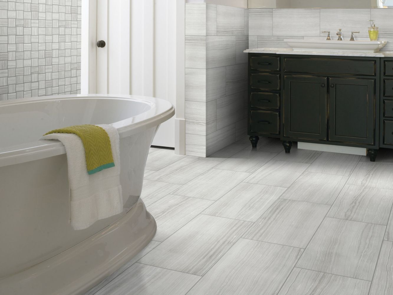 Shaw Floors Ceramic Solutions Rockwood 12×24 Glacier 00510_CS53L