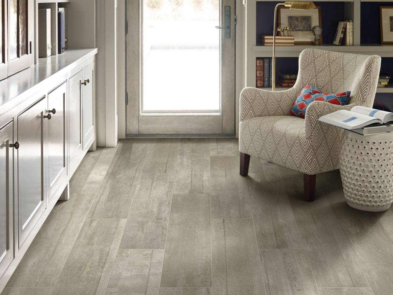 Shaw Floors Ceramic Solutions Glee 8.5×40 Gray 00500_CS62V