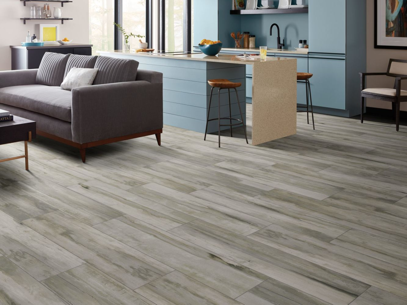 Shaw Floors Ceramic Solutions Arcadian Scene Meadow 00100_CS81W