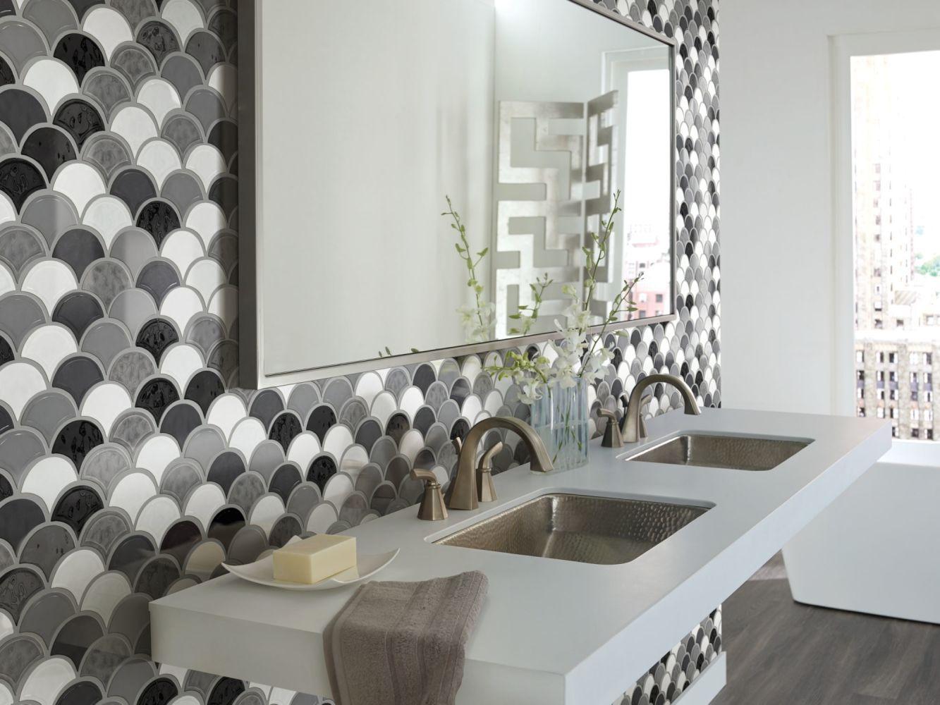 Shaw Floors Ceramic Solutions Geoscapes Fan Cool Blend 00510_CS99V