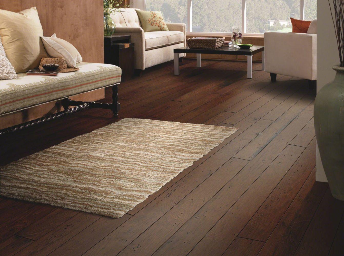 Shaw Floors Shaw Design Center Franklin Hickory Bayou Brown 00306_DC155