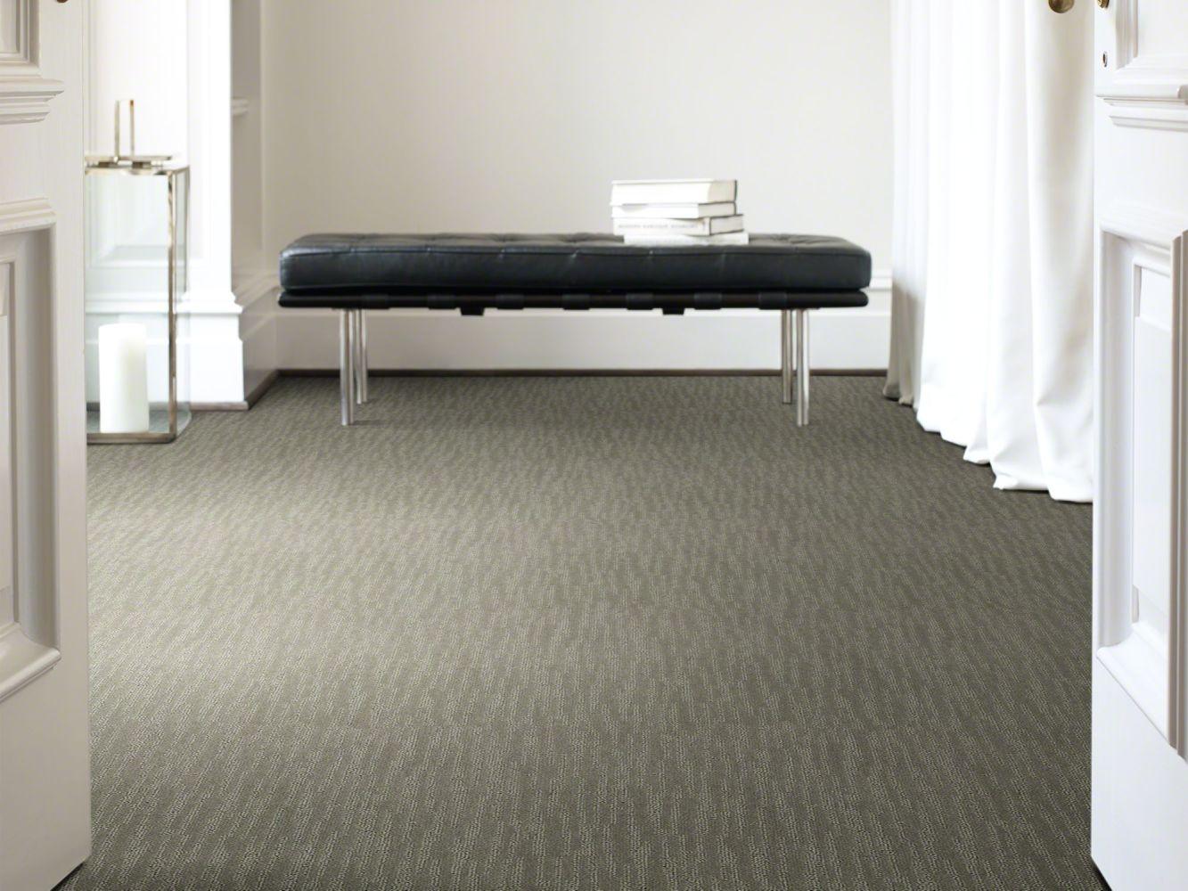 Shaw Floors Value Collections Bandon Dunes Net Charcoal 00539_E0825