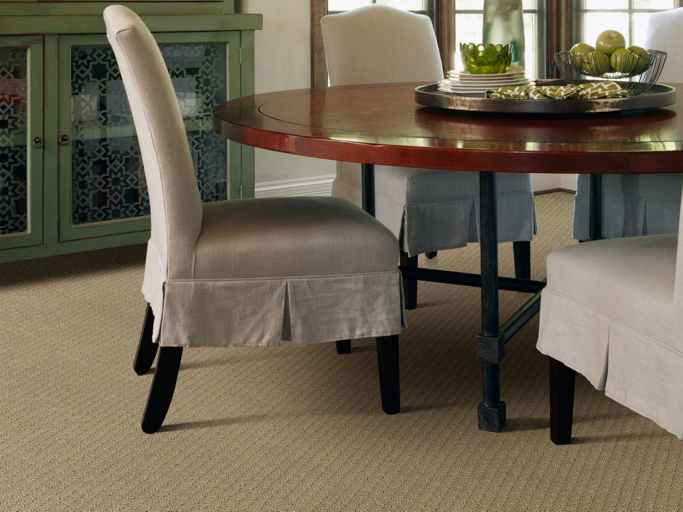 Shaw Floors Foundations Entwined With You Net Biscotti 00783_E9809