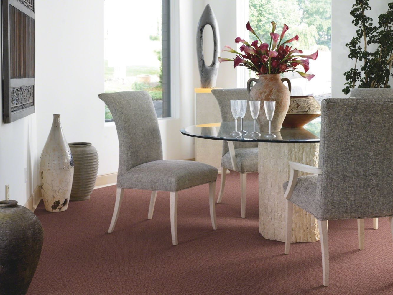 Shaw Floors SFA Sincere Beauty Loop Terra Cotta 00600_EA184