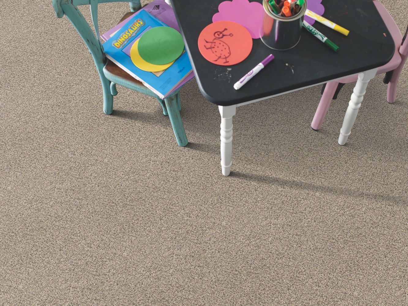 Shaw Floors Anso Colorwall Platinum Texture Accents Bistro 00184_EA760