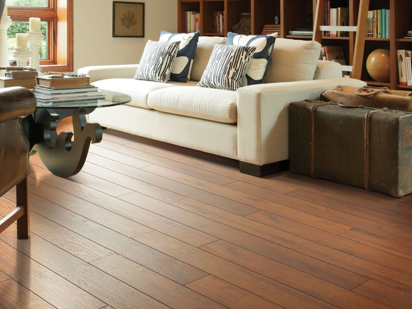 Shaw Floors Home Fn Gold Laminate Winchester Hickory Tellico Hickory 00617_HL300