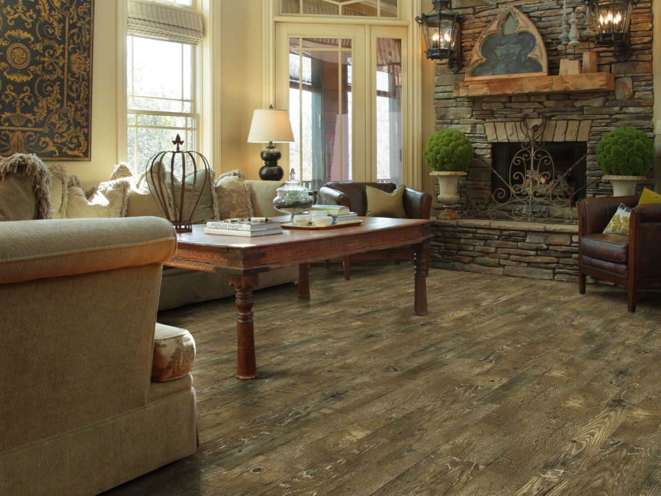 Shaw Floors Versalock Laminate Anderson Peak Brazen 07007_HSS01