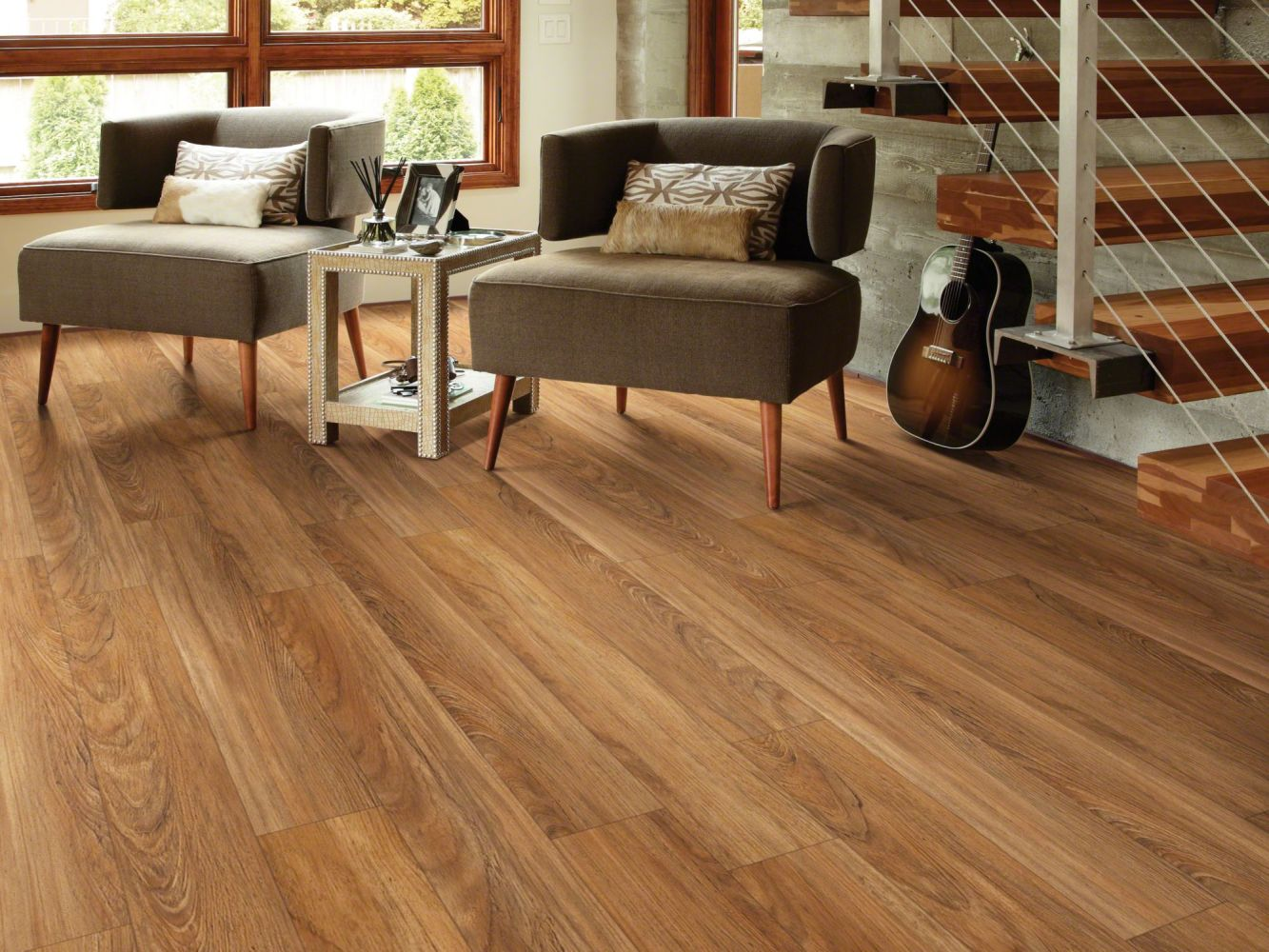 Shaw Floors Resilient Residential San Gorgonio Plus Teak 00603_HSS44