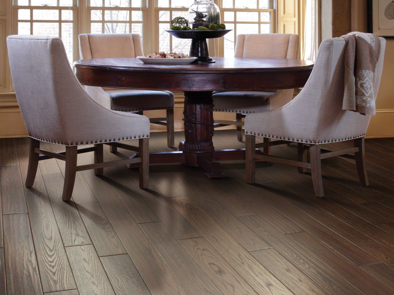 Shaw Floors Home Fn Gold Hardwood Kincade Tobler's Brown 00436_HW147